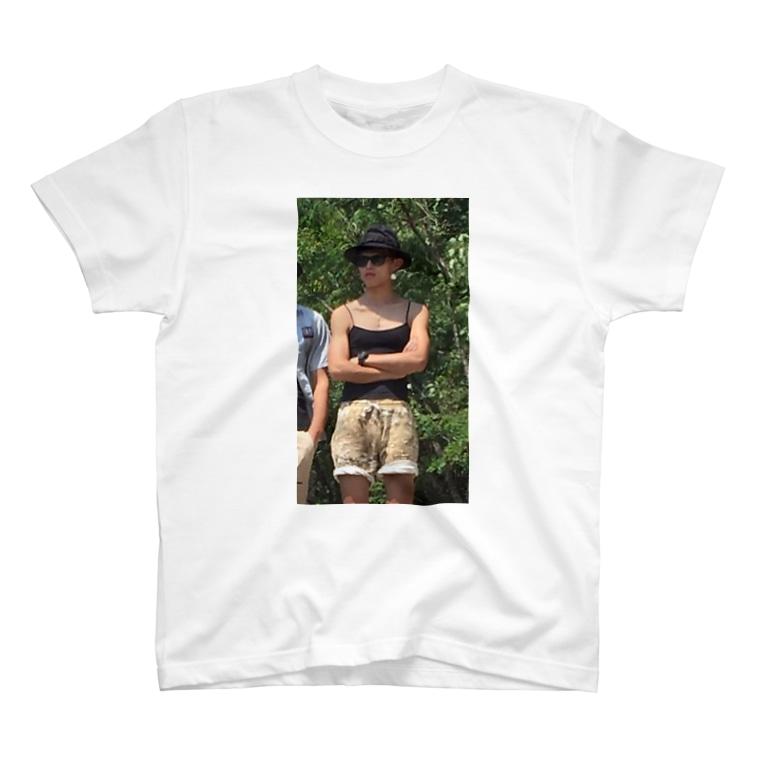 kingyamadaの場所取りの守護神アテラちゃん T-shirts