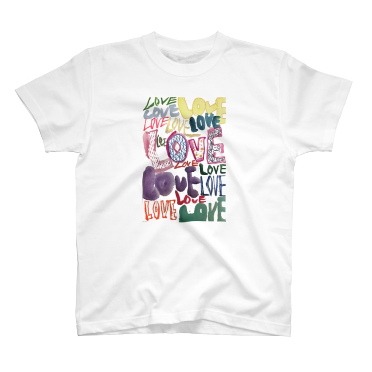 KIRAMEKU-YUKIのLOVE T-Shirt