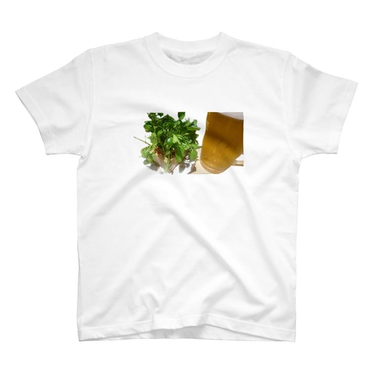 kaori屋のルッコラサラダ T-shirts