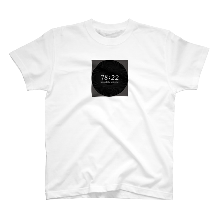 A2C COLLECTIONの78:22宇宙の法則 T-shirts