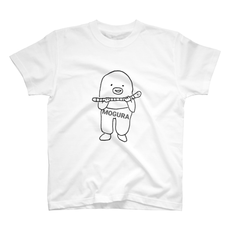 MOGURAのもぐら✕みみず T-shirts