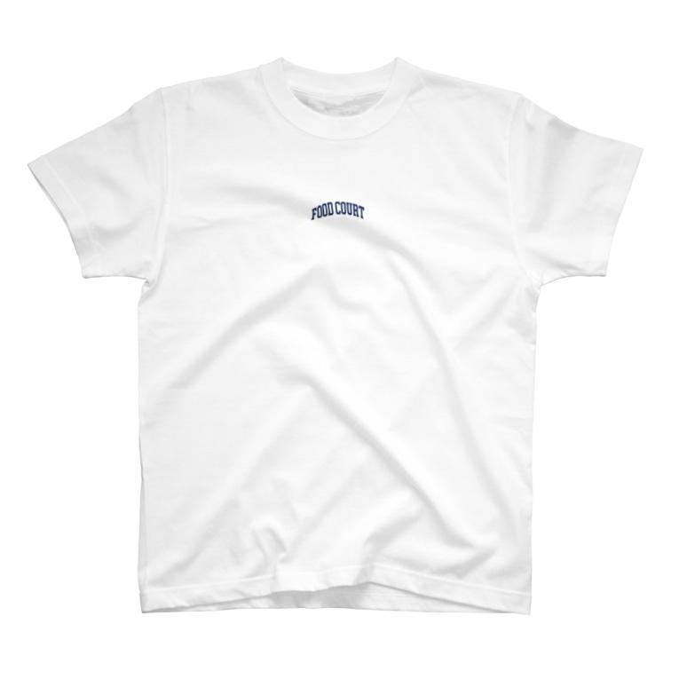 Goohy Warhol(グーヒー ウォーホール)のフードコート好きな人のロンT T-shirts