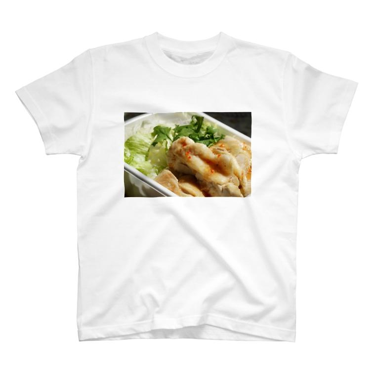 ちょめじのCOCOROTUS シンガポールチキンライス T-shirts