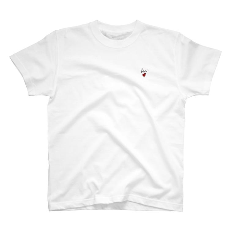 ぴゃーぱのpyaaaTくちびるred T-Shirt