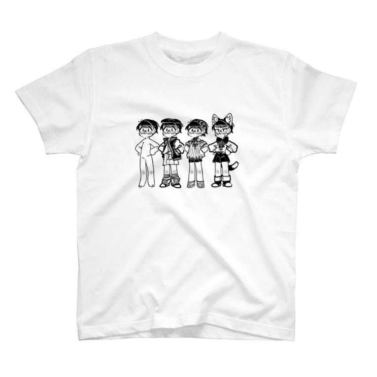 😈YUMMY😈のいろいろなスタイル T-shirts