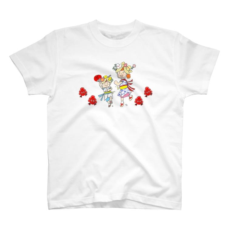 NPO法人子育て応援隊 ココネットあおもり 応援グッズのココネットでねぶた T-shirts
