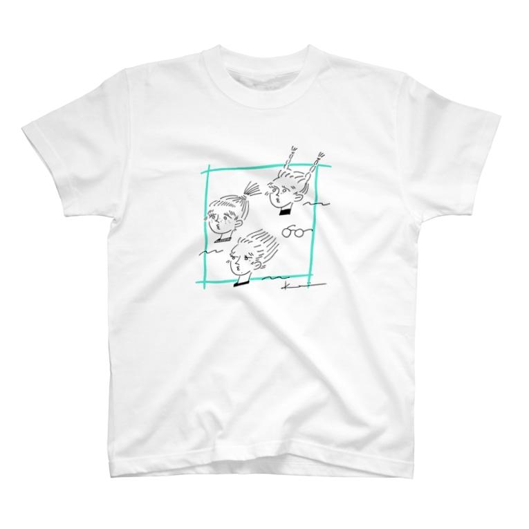 kameのびっくりガールズ T-Shirt