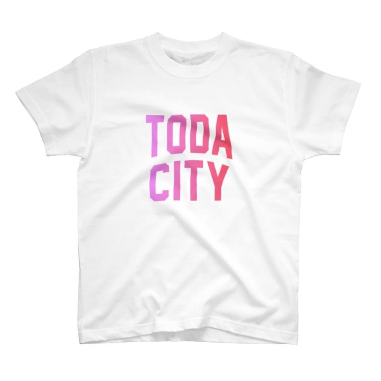 JIMOTO Wear Local Japanの戸田市 TODA CITY T-shirts