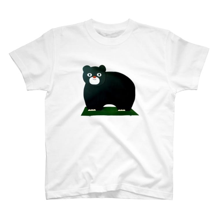 NAKONANAKOの大きいクマ T-shirts