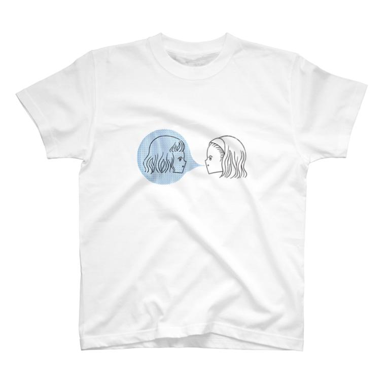 akira muraccoの私たちは友達Tシャツ T-shirts