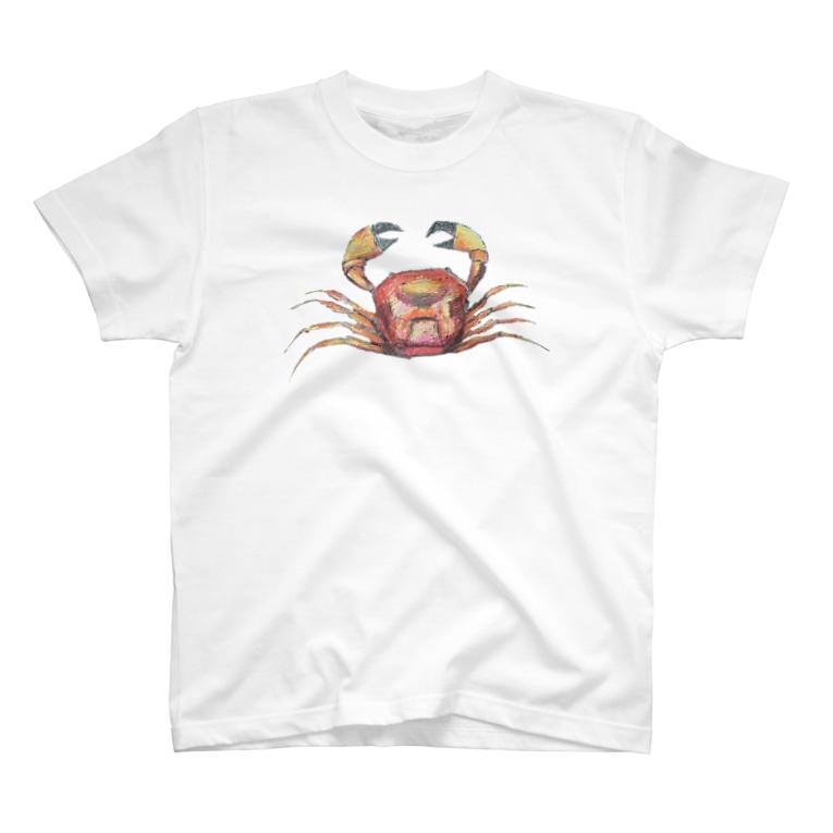 Clearskyのクレヨンかにちゃん T-shirts