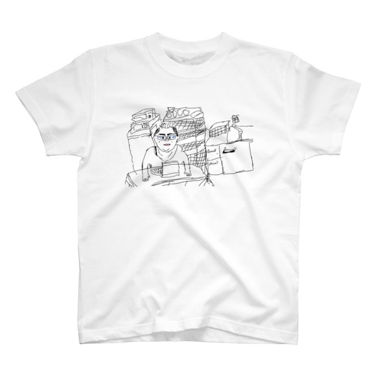 まるちな本舗の弟の描いた絵 T-shirts