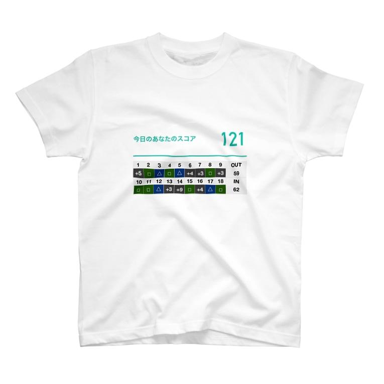 清四郎商店の初めて半年のゴルフ T-shirts