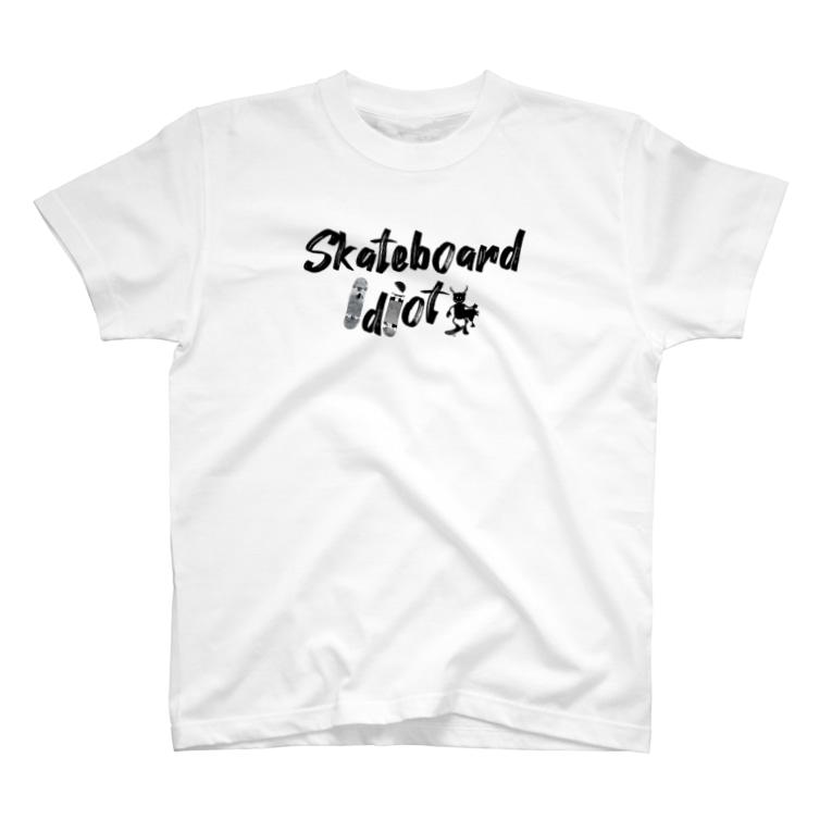 Sk8ersLoungeのスケボー馬鹿TEE T-shirts