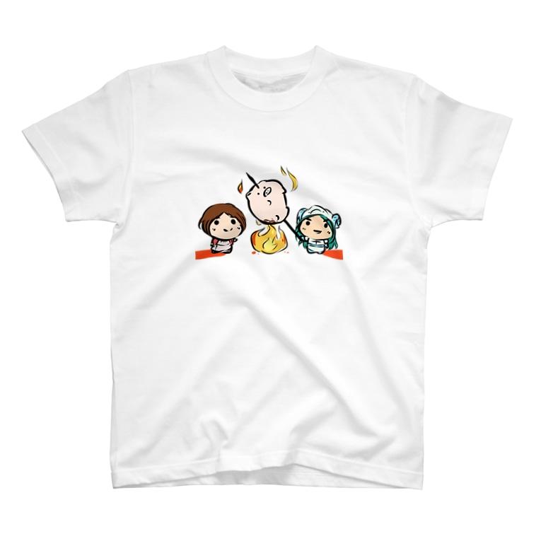 とーえん!のとーえん!【公式グッズ】おりょうり T-shirts