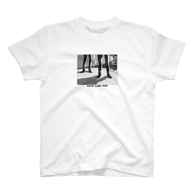 ねこぜもんのDEAD LINE 2AM (オールド) T-shirts