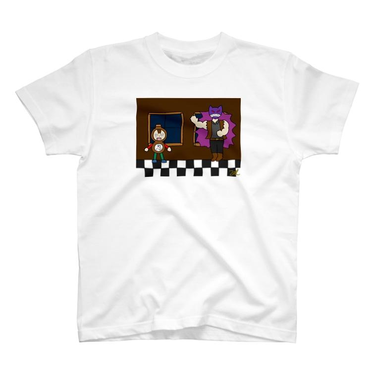 ゼータヒラヌマSHOPの倒したと思ったら、覚醒してもう1戦しなきゃいけないラスボス! T-shirts