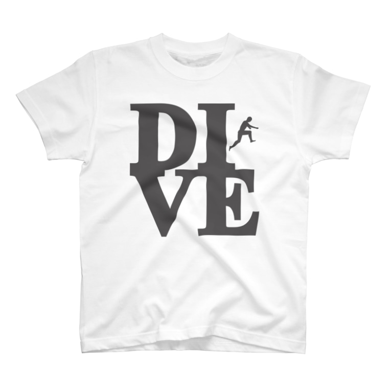"Plastic-Earthの""Dive"" POP-ART風 T-shirts"