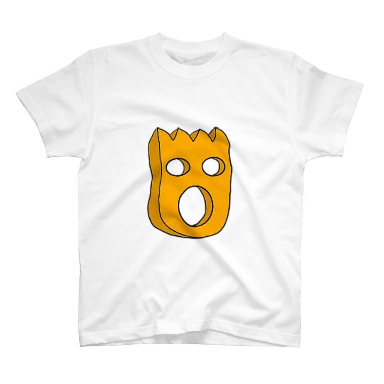 mogrus Goods shopのモグT(空洞) T-shirts