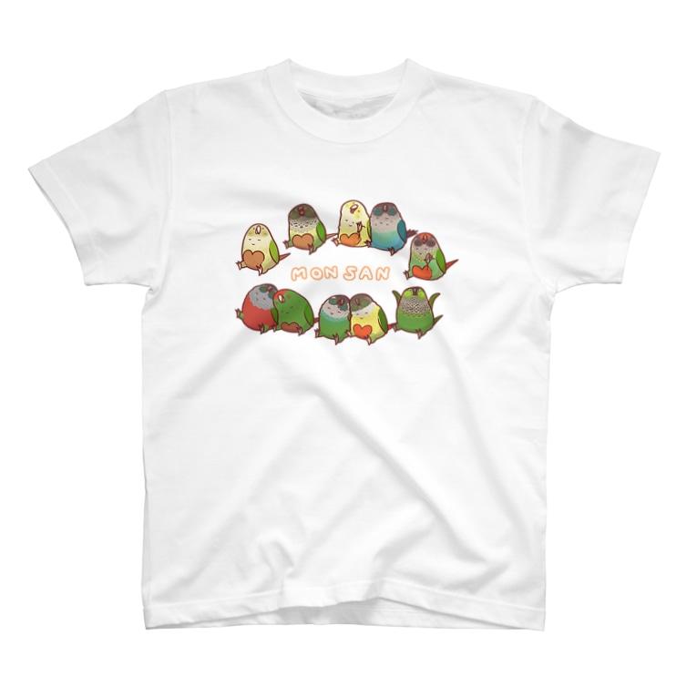 MONSAN SHOPの《MONSAN》ウロコズ T-shirts