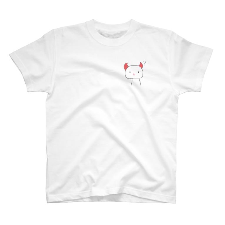 eliru5526のつのまるん T-shirts