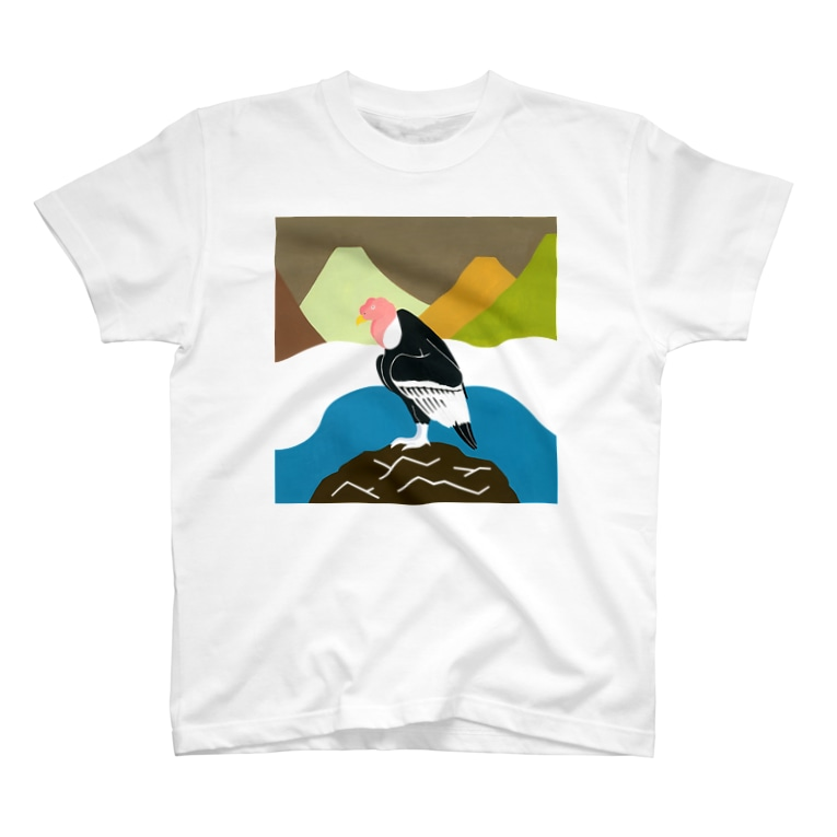 minachape STOREのおはぎ山のコンドル T-shirts
