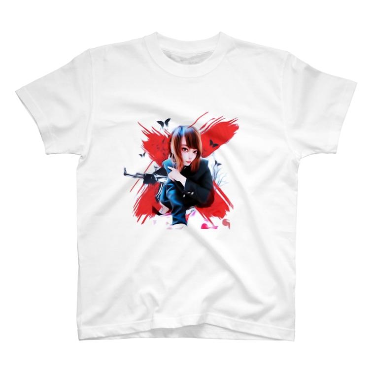 ᑦᑋ੨иPONYのチャンポニ❌ T-shirts