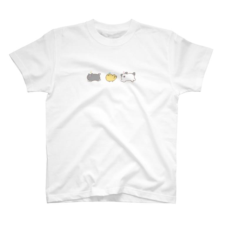 本調子の笑顔生命 T-shirts