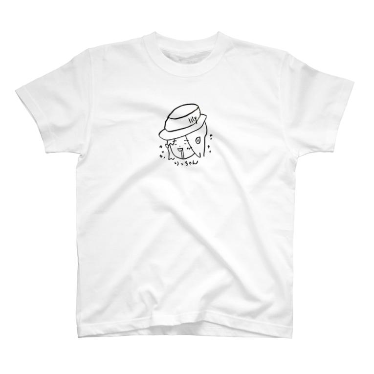 よだれ猿ワークス「モン屋」の華Tシャツ T-shirts