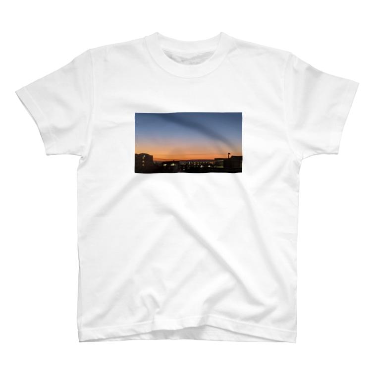 amuYouの朝焼け T-shirts