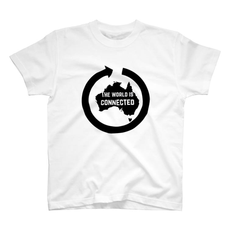 試作 ジェンダーレス ショップの大陸 T-shirts