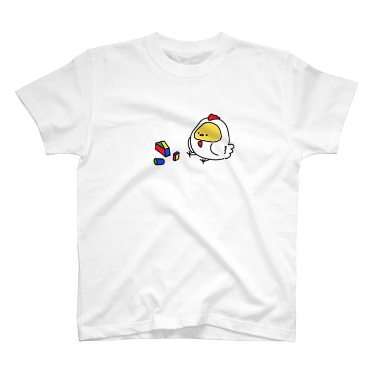 【CRAYON LAND】の大人になりたいじょにー T-shirts