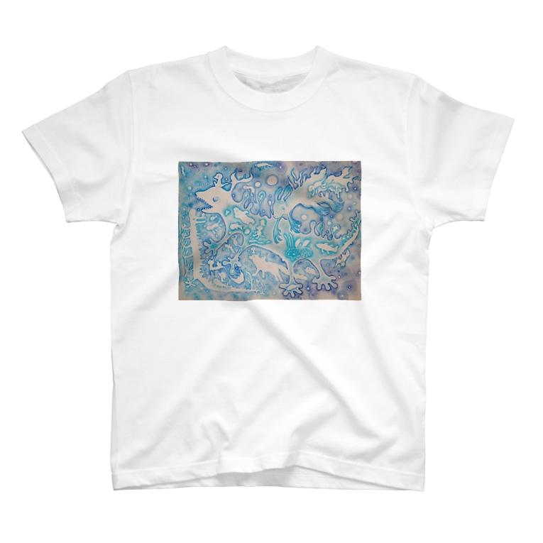 ミズホドリの壁らくがき04 T-shirts