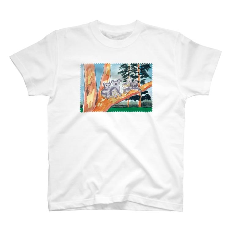 nelcoのオーストラリアの親子 T-shirts
