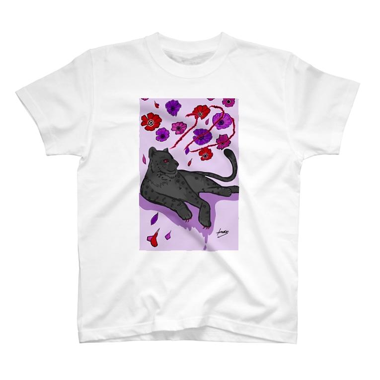 𝙽𝚘 𝚁𝚘𝚜𝚎 𝚆𝚒𝚝𝚑𝚘𝚞𝚝 𝙰 𝚃𝚑𝚘𝚛𝚗.の花に嵐 T-shirts