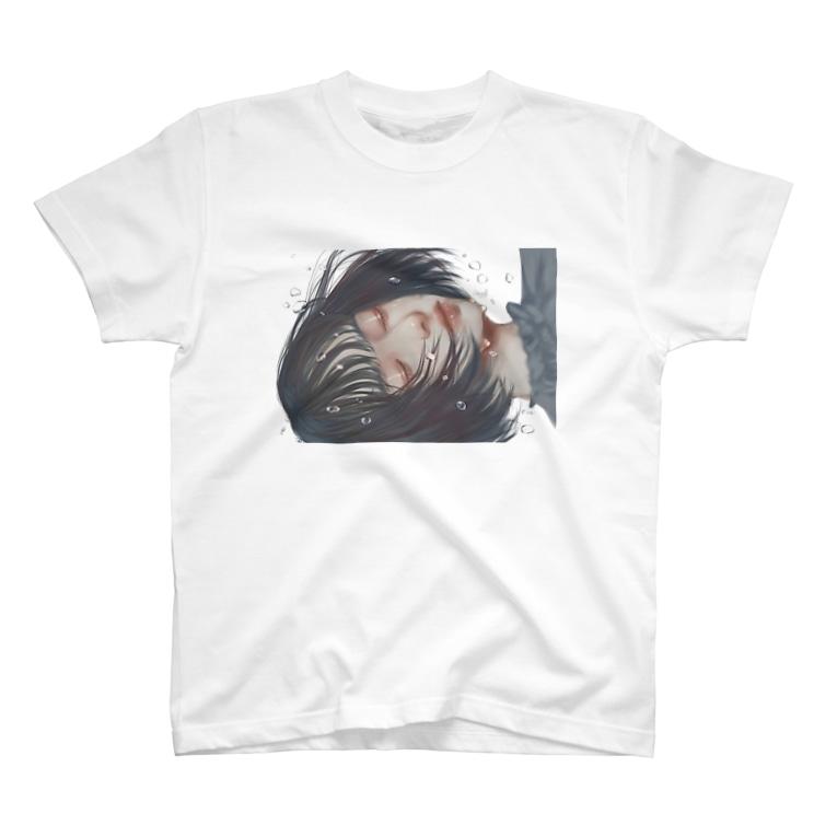 しゃるがふのいっそきえていなくなれ T-shirts