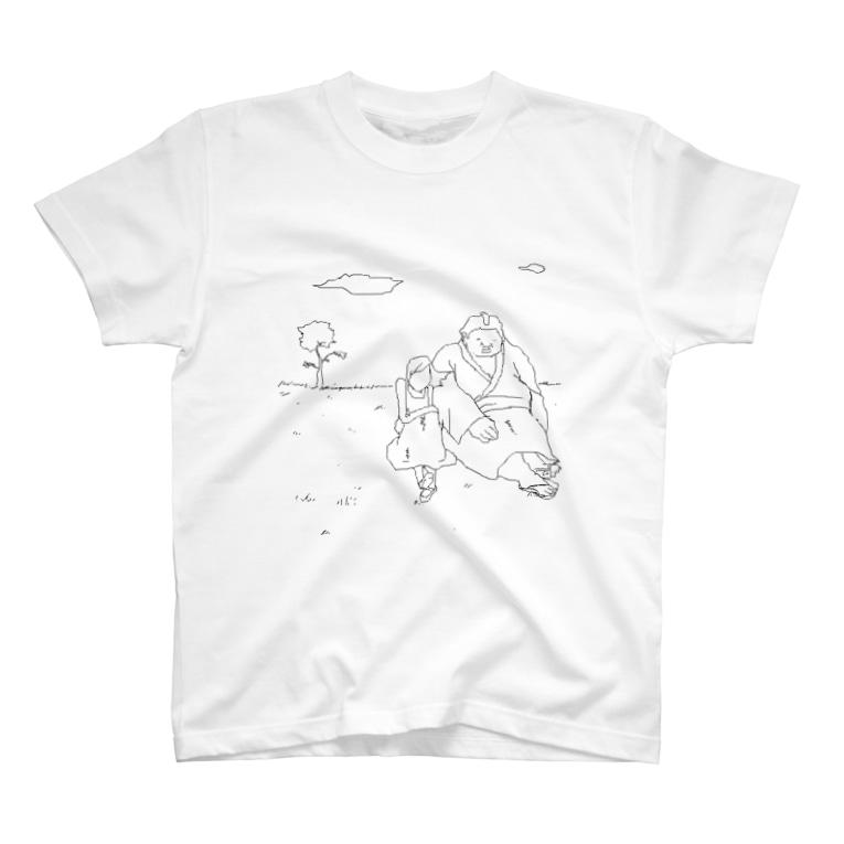 ギャラクシースーパーノヴァコーポレーションのsumo girl T-shirts