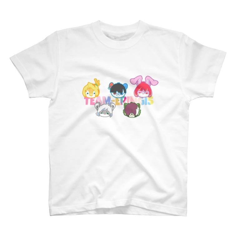 うすたのチームエリンギ5 T-shirts