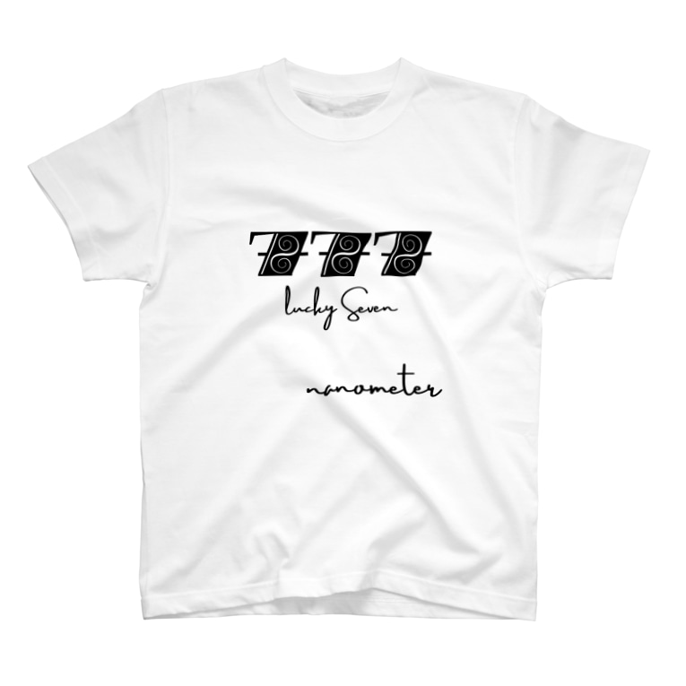 "nanometerのnanometer ""777""Tシャツ T-shirts"