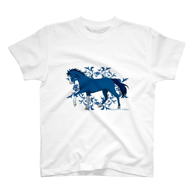 SWのBLUE HORSE T-Shirt