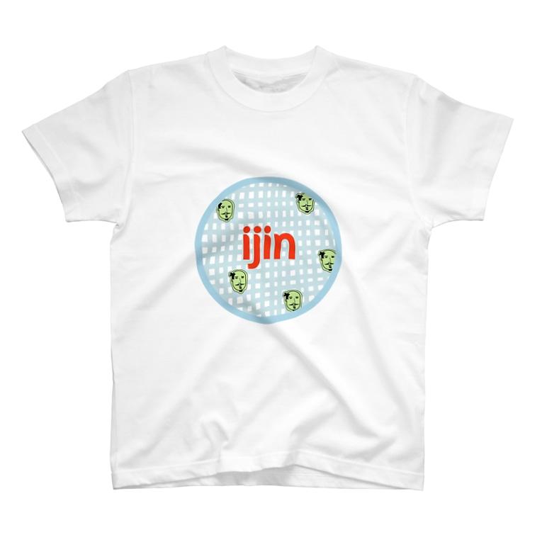 huanfunkoのijin Tシャツ(ODA) T-shirts