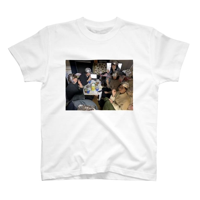 平井蘭香のアルミホイルのおともだち T-shirts