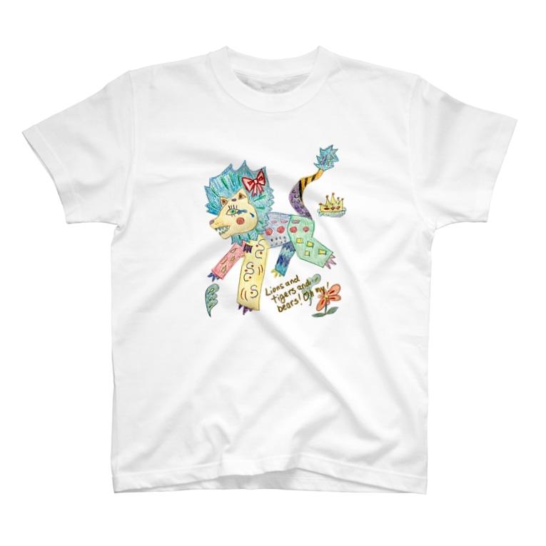 mikoの弱虫ライオン T-shirts