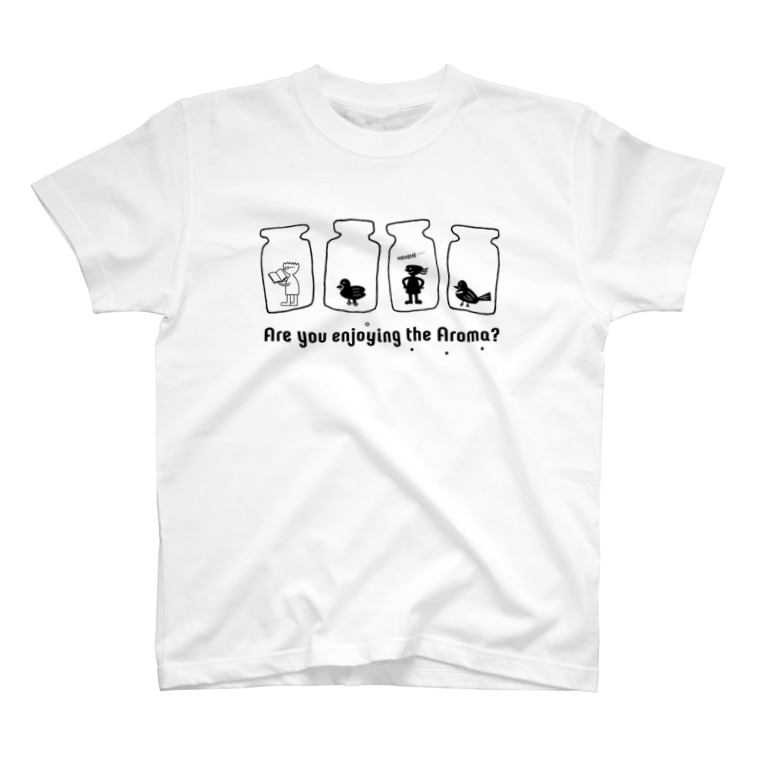 koko_ha_shopのkoko_ha_shop. Are you enjoying the Aroma? T-Shirt