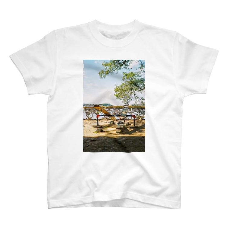 フィルムでスナップ!!のシーソー T-shirts
