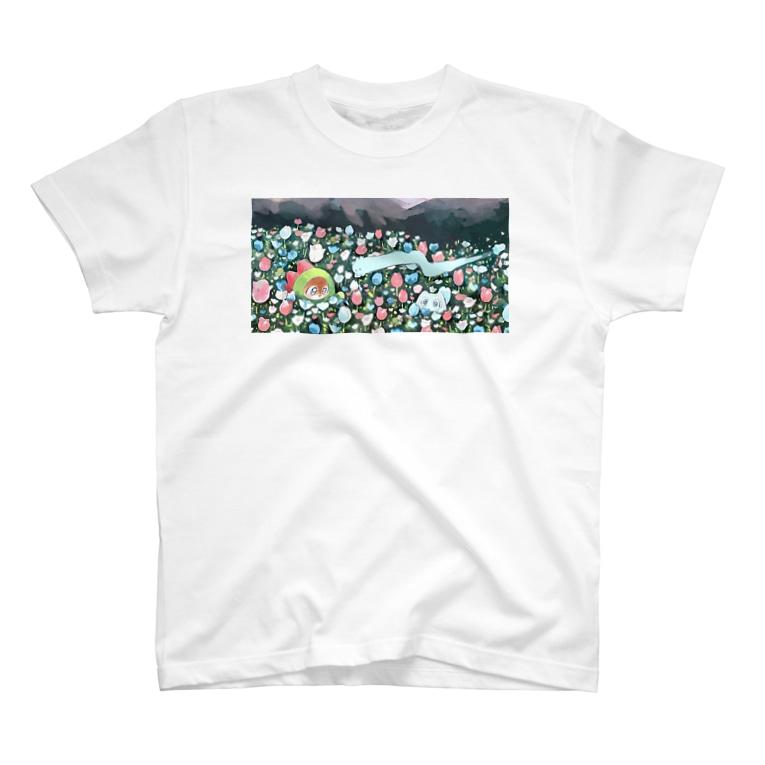 里 (sato)のきみの、ぼくらの、 T-shirts