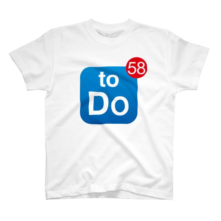 gorozomachine_storeのやることいっぱい T-shirts