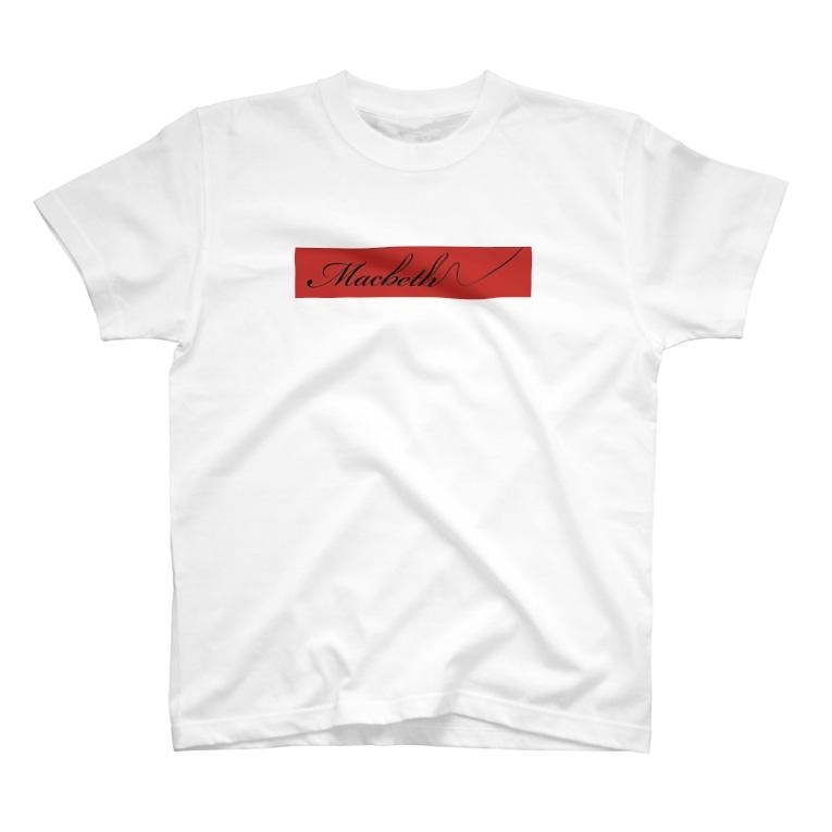 studio applauseのマクベスロゴTシャツ T-Shirt