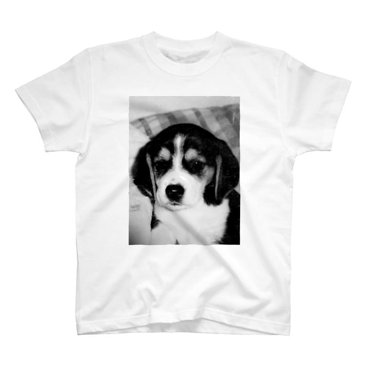Yuuta_kのビーグルBaby T-shirts
