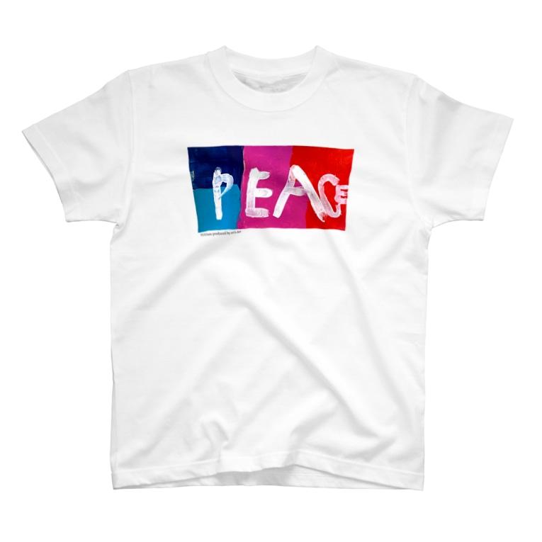 eri's Art love & peace FactoryのUism-01 T-shirts